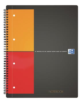 Oxford INTERNATIONAL Notebook Connect, met scanbare pagina's, 160 bladzijden, ft A4+, geruit 5 mm