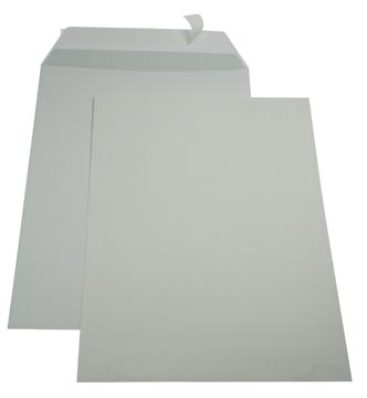 Gallery enveloppen ft 229 x 324 mm, stripsluiting, binnenzijde grijs, doos van 250 stuks