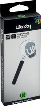 Wonday leesloep diameter: 60 mm, vergroot 3 keer, in ophangdoosje