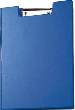 Maul klemmap met insteekmap, uit PP, voor ft A4, blauw