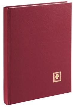 Pagna postzegelalbum, A4, 32 vel, wijnrood