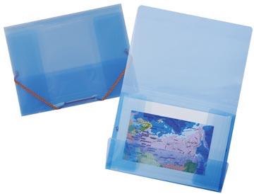 Elastomap Crystal blauw