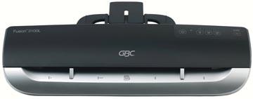 GBC lamineermachine Fusion 3100L voor ft A3, inclusief 3 pakken lamineerhoezen (2 + 1 gratis)