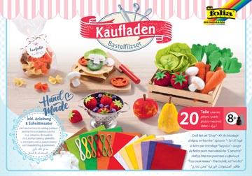 Folia vilt craft kit met 20 stuks, Markt