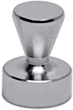 Maul neodymium kegelmagneet, diameter 12 mm, pak van 5