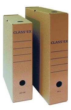 Class'ex archiefdoos,voor ft A4, binnenft: 34,5 x 25,1 cm