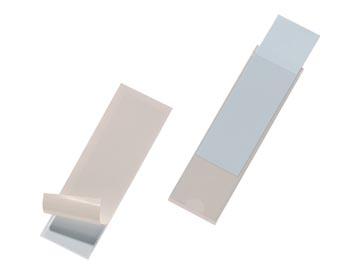 Durable Pocketfix binnenafmetingen 100 x 28 mm, buitenafmetingen 104 x 32 mm