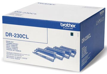 Brother drum, 15.000 pagina's, OEM DR-230CL, 4 kleuren