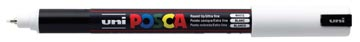 uni-ball Paint Marker op waterbasis Posca PC-1MR wit