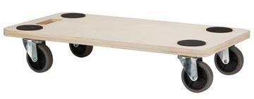 Meubelverplaatser, ft 56 x 30 cm, laadvermogen tot 150 kg