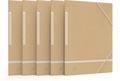 Oxford chemisa à rabats Touareg, ft A4, en carton, beige et blanc